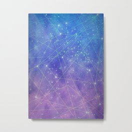 Map of the Stars Metal Print