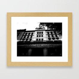 Grand Hotel Des Bains Framed Art Print