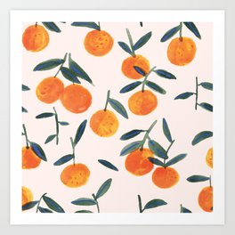 Clementines Art Print