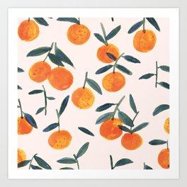 Clementines Art Print