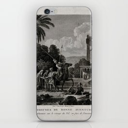 Egyptian Fortune-tellers Outside a Palace iPhone Skin