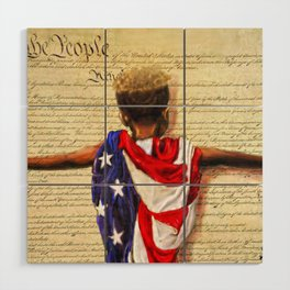 Stars and Stripes 2020 Wood Wall Art