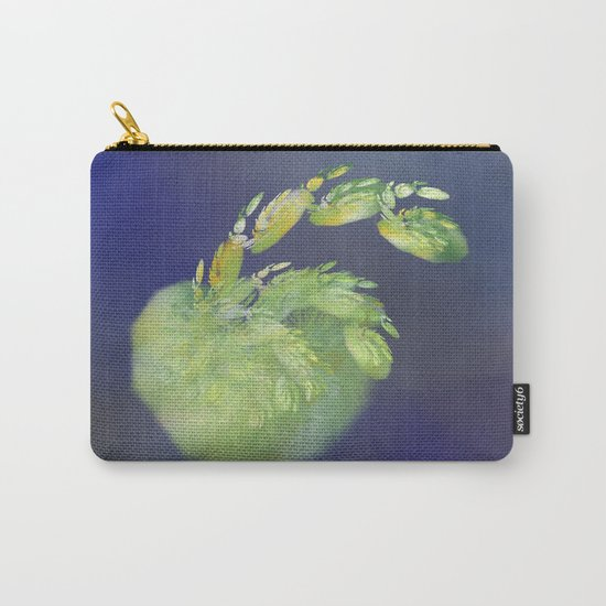 one green Apple   (A7 B0232) Carry-All Pouch