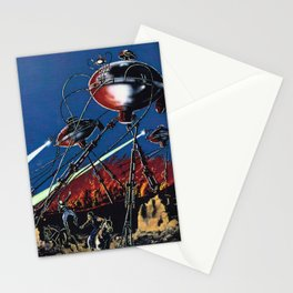 War of the Worlds 1 Stationery Cards