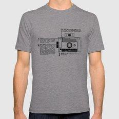 Polaroid Land Camera  Tri-Grey Mens Fitted Tee MEDIUM