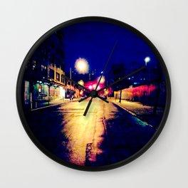 """""""Brooklyn Nights"""" Wall Clock"""