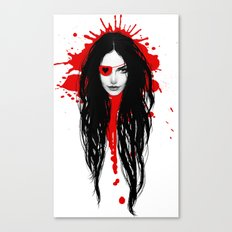 Pirata Blood Canvas Print