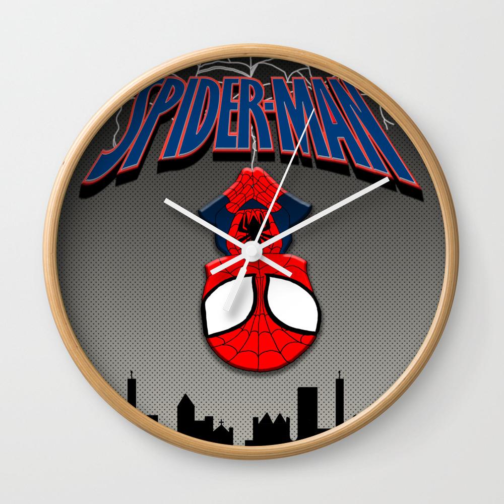 Spider-man Wall Clock by Justjessie CLK8502361