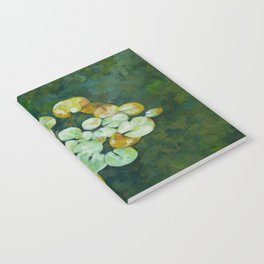 Tranquil lily pond Notebook