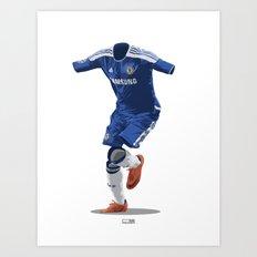 Chelsea 2011/12 - Champions League Winners Art Print
