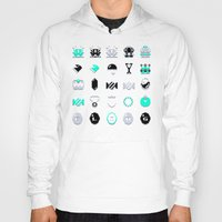 8 bit Hoodies featuring 8-Bit Bling by Spires