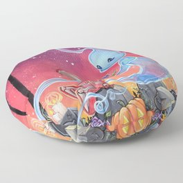 Body and Soul: First bloom Floor Pillow
