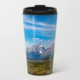 Teton Mountains Travel Mug