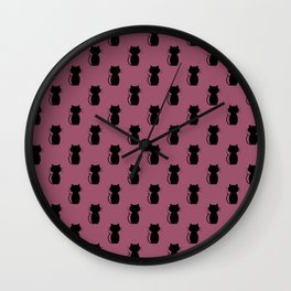 A Lot of Cats B/B Wall Clock