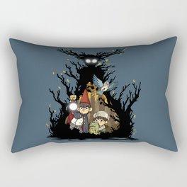 Over the Garden Wall Rectangular Pillow