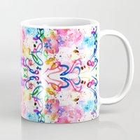 arab Mugs featuring Arab Sunset by Yaz Raja Designs