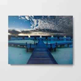 Reethi Beach Maldives  Metal Print