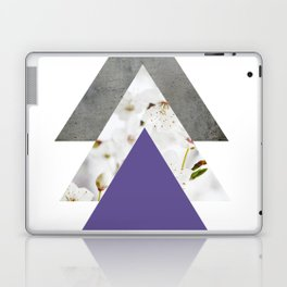 Ultra Violet Blossoms Arrows Laptop & iPad Skin