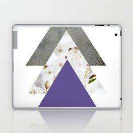 Ultra Violet Blossoms Arrows Laptop & iPad Skin