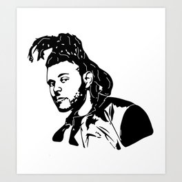 GET WITH THE WEEKEND Art Print
