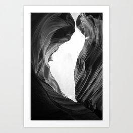 WANDERLUST ANTELOPE CANYON ROAD TRIP Art Print