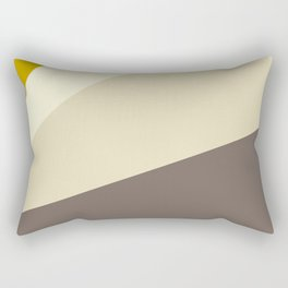 Muted gold and off-white  #society6 #decor #buyart Rectangular Pillow