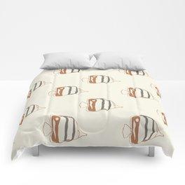 School of Fish II Comforters