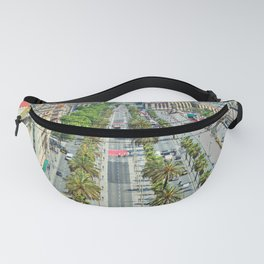 Barcelona from above Fanny Pack
