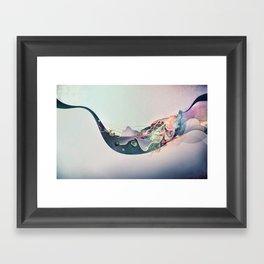 Organic Panic Framed Art Print