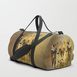 Anubis the egyptian god Duffle Bag