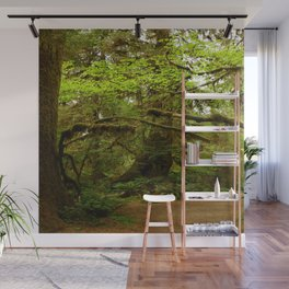 The Opulence Of The Rainforest Wall Mural