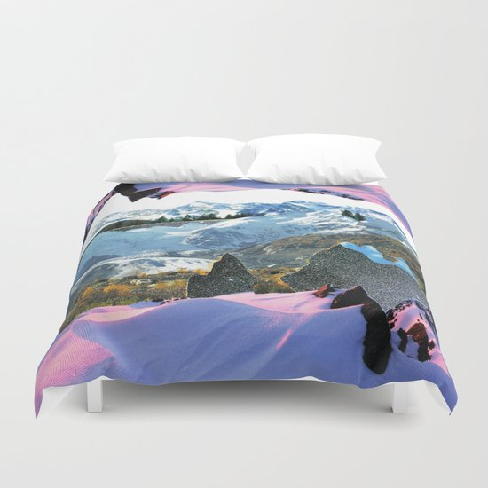 Experiment am Berg 30 Duvet Cover