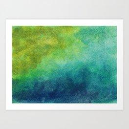 Abstract No. 140 Art Print