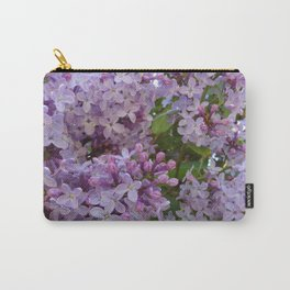 Lilac ~ Periwinkle Carry-All Pouch