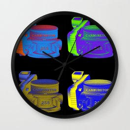 Carburetor 2 Wall Clock