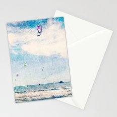 Kite Sailing  Stationery Cards