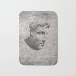 ANCIENT / Head of Augustus Bath Mat