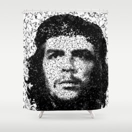 Homage to Che Guevara Shower Curtain