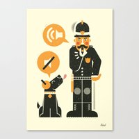 obey Canvas Prints featuring Obey ... by AQ studio