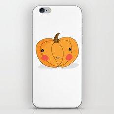 Pumpkin iPhone Skin