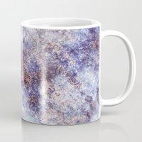batik Mugs featuring Batik Crackle by Amy Sia