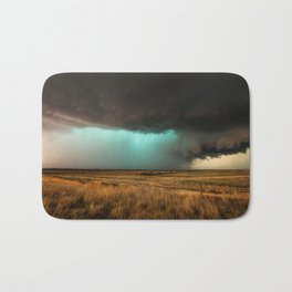 Jewel of the Plains - Storm in Texas Bath Mat