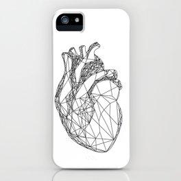Geometric Heart iPhone Case