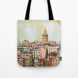 Istanbul city Turkey Tote Bag