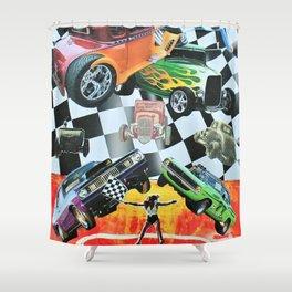 Hot Rod 2 Shower Curtain