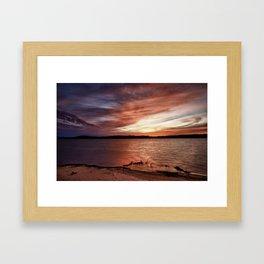 Cotile Sunset_3 Framed Art Print