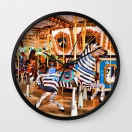 MOA Carousel Wall Clock