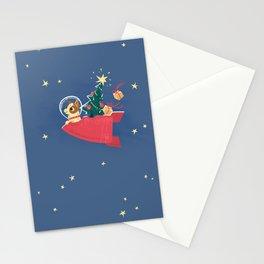 Laika Christmas Stationery Cards