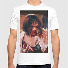 Adrenaline Shot - Mia Wallace - Pulp Fiction T-shirt