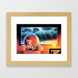 Lily's Island Framed Art Print